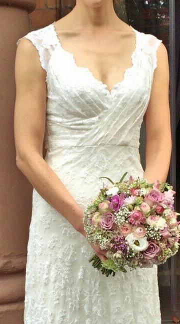 """""""Vintage-Strauß"""" für die natürliche Braut"""