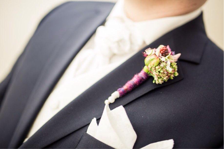 Anstecker zur Hochzeit
